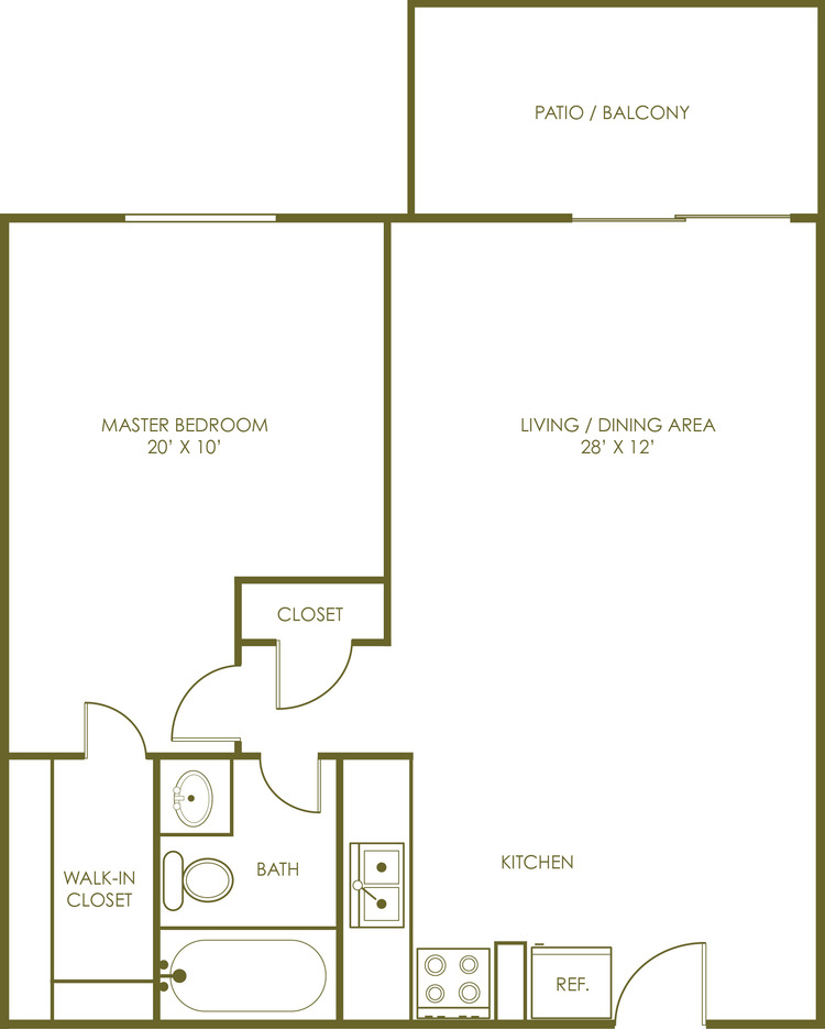 One Bedroom Large